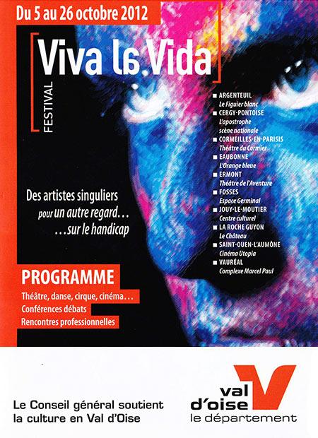 Affiche Viva la Vida 2012