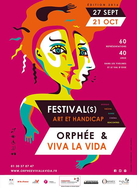 Affiche du Festival(s) Orphée & Viva la Vida