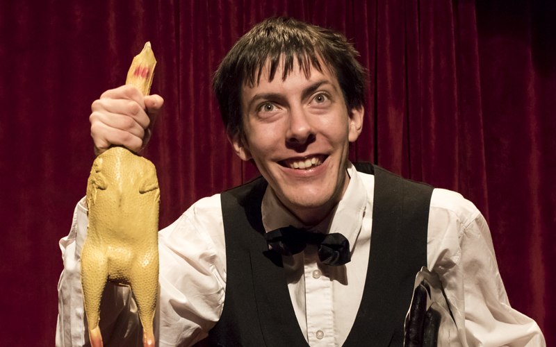 Cabaret des frissons garantis  - Théâtre du Cristal- comédiens en situation de handicap
