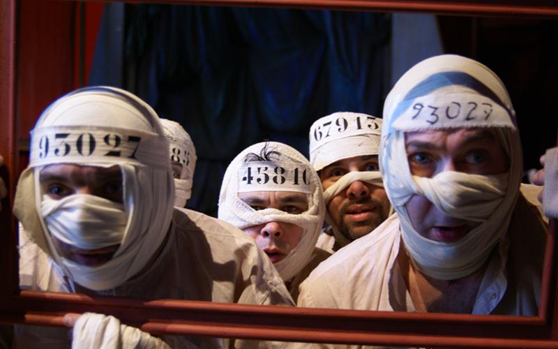 Théâtre du cristal - Jonas Orphée - Comédiens en situation de handicap