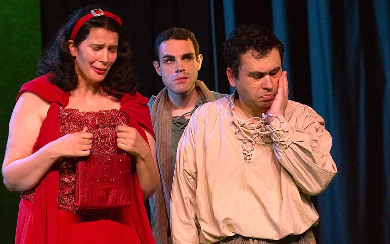 Théâtre du Cristal - Hier c'est mon anniversaire - Comédiens en situation de handicap