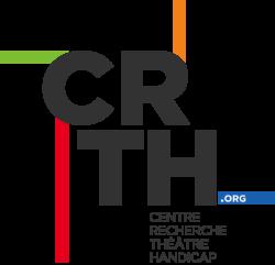 Logo du CRTH - Centre Recherche Théâtre Handicap | Lien vers le site du CRTH (Centre Recherche Théâtre Handicap) - www.crth.org