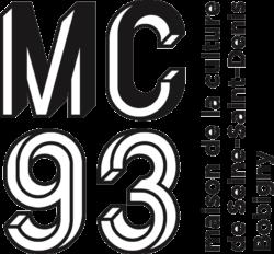 Logo de la MC93 (Maison de la culture de Seine Saint Denis Bobigny) | Lien vers le site de la MC93 - www.mc93.com