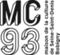 Logo de la MC93 (Maison de la culture de Seine Saint Denis Bobigny)