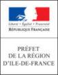 logo préfet de la région d'île de france